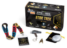 NEW Star Trek True Fan Epic Box 5 Collectibles Coin Pin Lanyard Mystery Ltd Ed.