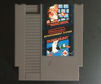 NES Nintendo Super Mario Bros./Duck Hunt Cart Only - Cleaned & Tested