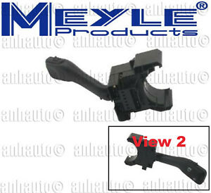 Audi TT Vw Beetle Jetta  Passat (A4 Chassis) Meyle Brand Windshield Wiper Switch