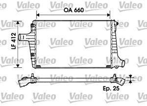 Aluminium Intercooler VALEO Fits AUDI A6 Avant C5 4B Sedan Wagon 1997-2005