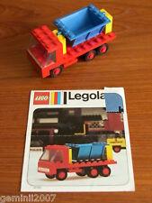LEGO SET 612-1 Tipper Truck - Vintage (1974) - Complete - NO BOX - VGC