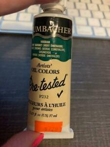 GRUMBACHER Artists' Oil Colors Pre-tested Viridian Item #P232
