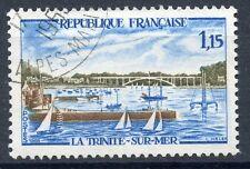 STAMP / TIMBRE FRANCE OBLITERE N° 1585  PORT DE LA TRINITE SUR MER