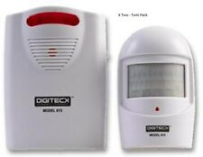 Digiteck HomeSafe A9 615 White Wireless Safety Alert & Driveway Patrol Alert 90m