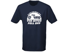 If You Can Read This B*tch Fell Off Funny Mens Biker T-Shirt (12 Colours)