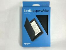 All-New Kindle Paperwhite Leather Cover CASE (10th Generation-2018) Black