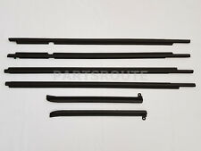 Toyota Land Cruiser Prado GX470 OEM Quarter & Door Belt Moulding Black SET 03-09