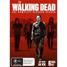THE WALKING DEAD-Season 7-Region 4-New Sealed-6 Disc Set-TV Serie