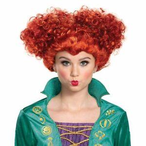 Disney Hocus Pocus Winifred Wini Sanderson Deluxe Adult Costume Wig | Disguise