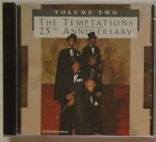 THE TEMPTATIONS - Volume Two - 25th Anniversary - BRAND NEW -  CD