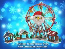 LEGO Winter Village Ferris Wheel INSTRUCTIONS ONLY for LEGO Bricks Christmas