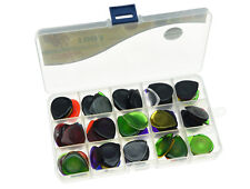 100x Alice Guitar Picks Large Clear Plectrums Assorted 3 Thickness 1.0/2.0/3.0mm