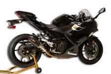 M4 Performance X-96 Carbon Fiber Slip on Muffler 2018 Kawasaki Ninja 400 KA4014