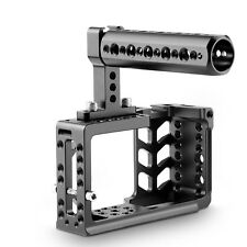 SmallRig Camera Cage Kit with Top Handle and Cold Shoe for BMPCC - 1991