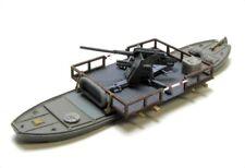 Fähre bzw. Schwimmponton mit 8,8 cm Flak WW2 Standmodell Militär Maßstab 1:160