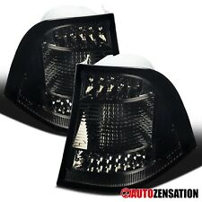 For 1998-2005 Mercedes Benz W163 M-Class Smoke Lens LED Tail Lights Brake Lamps