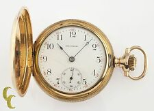 Waltham Full Hunter 14k Yellow Gold Antique Pocket Watch Grade 620 15J 16S 1899