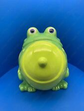 "Kookie Jars ""Frog"" Ceramic Cookie Jar By Westland Gift #11181 / No Box"