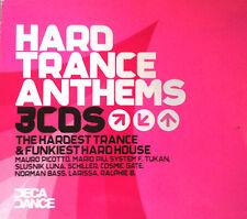 HARD TRANCE ANTHEMS - 3X CDS MIXED DJ FRIENDLY !! HARD HOUSE HARDSTYLE CD CDJ DJ