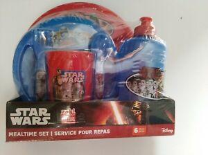 Disney Star Wars Meal Time Set Service Four