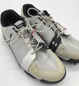 Under Armour Tempo Sport Gore-Tex Golf Shoes White Men Size 11