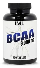 Iron Mag Labs BCAA 3000 ALL NATURAL Muscle Building Amino Acid Supplement ◆GAINS