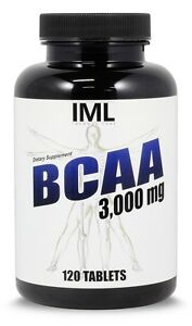 Iron Mag Labs Building Blocks of Muscle Mass BCAA 3000mg,120 ct. Bodybuilding