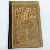 1890 Finest of the Wheat 1 & 2 Combined Hymnal Sabbath Schools Music Song Book