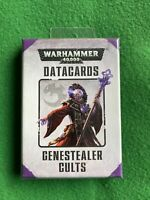 Warhammer 40k Datacards Genestealer Cults Sealed New Games Workshop Cards Nids