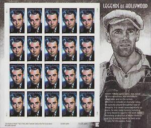 US #3911 2005 Henry Fonda Legends of Hollywood Sheet MNH
