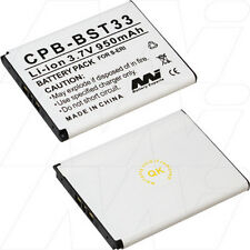 CPB-BST33 3.7V 950mAh Lithium Mobile Phone Battery