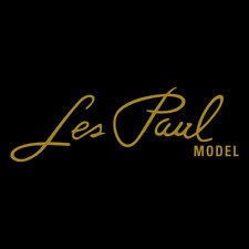 More details for les paul model headstock self adhesive vinyl decal x 2 - more colours available