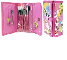 Hello Kitty Compact Mirror And Brush Pouch Pink Make up Kit - Hello Kitty Fans