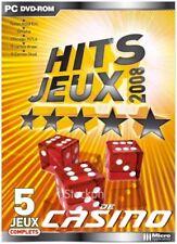 Hit Jeux 2008 - 5 Jeux Casino - JEUX PC NEUF