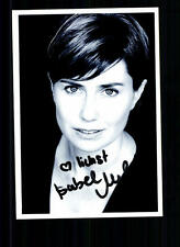 Isabel Foto Original Signiert ## BC 20376