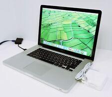 "Apple MacBook Pro 15"" A1286 Core 2 Duo 2.53GHz 4GB 320GB MB471LL/A 2008"