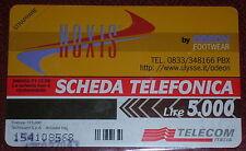 NOXIS  BY ODEON FOOTWEAR ( GOLDEN 661 ) / SCHEDA TELEFONICA TELECOM NUOVA