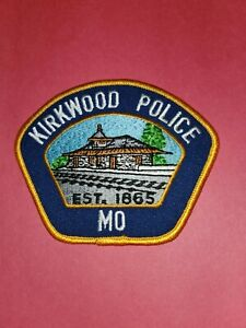 Kirkwood (St. Louis County) MO Missouri Police patch - NEW! TRAIN DEPOT