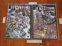 DefCon 4 #1-4 Premier Issues Image Comics High Grade Comic Book RM7-10