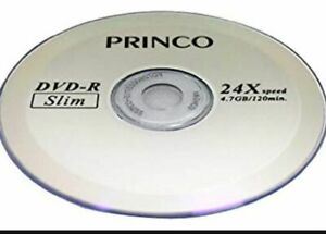 Princo 24X Blank DVD-R Recording Media-10 pieces+Free Shipping