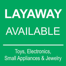 "Layaway Available Sign 8"" x 8"""
