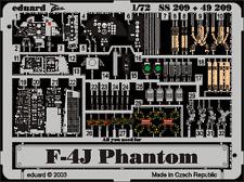 Eduard Zoom ss209 1/72 Mcdonnell F-4j Phantom Hasegawa