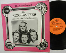 THE KING SISTERS with FRANK DEVOL'S orchestra LP