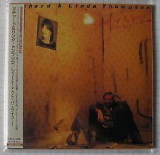 RICHARD & LINDA THOMPSON - Shoot Out The Lights + 1 JAPAN MINI LP CD OBI NEU