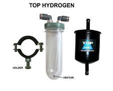 HHO gorgogliatore + VENTURI, FILTRO, staffa, 8mm Push-In & 2 adattatori per HHO tubi flessibili.