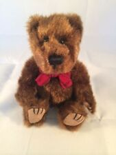 Bath & Body Works Classic Teddy Bear ~ Chocolate ~ Stitched Nose ~ Felt Pads 6""