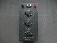 Vintage General Radio Decade Resistance Box Type 602 - G