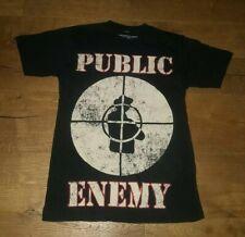 eef80a9b14f3 Public Enemy T Shirt Size Small Fight The Power Classic Logo Chuck D hip  hop rap