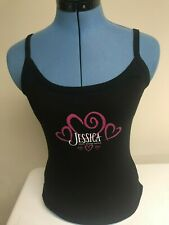 Jessica Andrews New Women's Medium Heart Shaped World Babydoll Shirt 1999