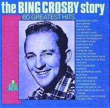 The Bing Crosby Story 60 Greatest Hits 3 Cassette Box Set MP 3071/3 Holland